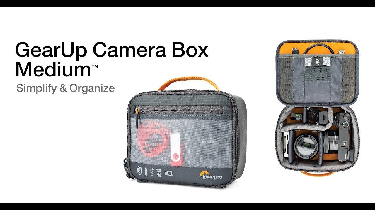 נרתיק לאביזרי צילום Lowepro GearUp Camera Box Medium 3