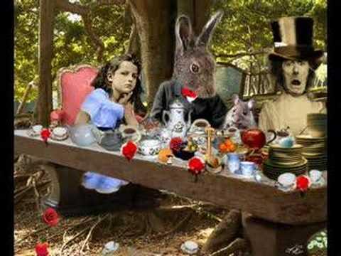 Alice In Wonderland inspired artwork by Kenneth Rougeau