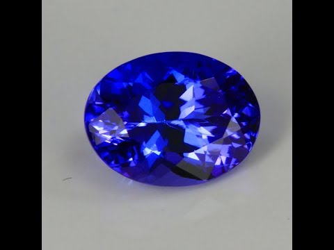 Tanzanite Oval 1.94 Carats With Stronger Blue Coloration