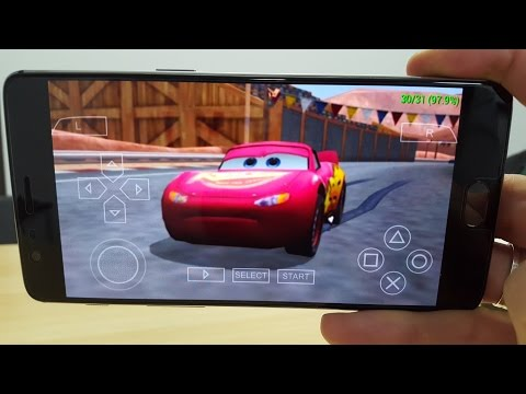 Cars Android Gameplay PPSSPP Snapdragon 821/Pixar/Disney Game PSP
