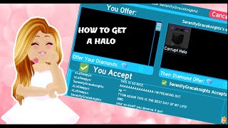 How To Get The Halo In Royale High