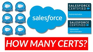 How Many Salesforce Certifications Should You Get?