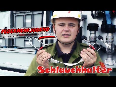 Schlauchhalter - Feuerwehr Ausbildung