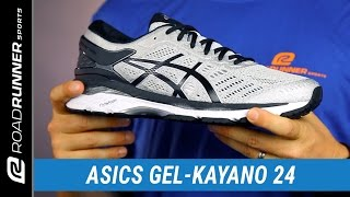 Asics GEL-Kayano 24 Men's Running Shoes video
