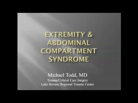 Extremity & Abdominal Compartment Syndrome - Micha