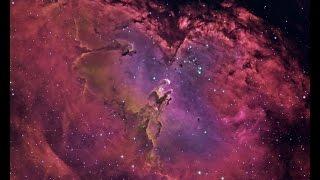 Сквозь вселенную - Столпы Творения 4К/Pillars of Creation