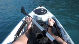 Рыбалка на каяке в море
