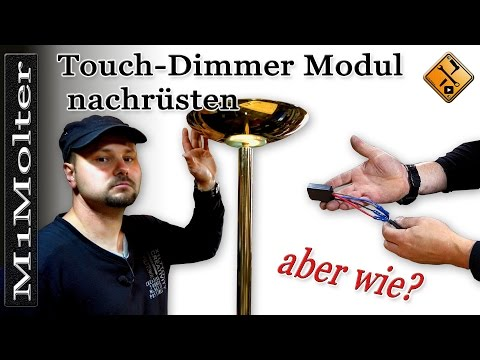 Touch Dimmer Modul selber nachrüsten von M1Molter