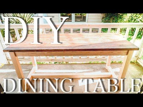 【DIY】初心者でも15000円で作れるダイニングテーブル