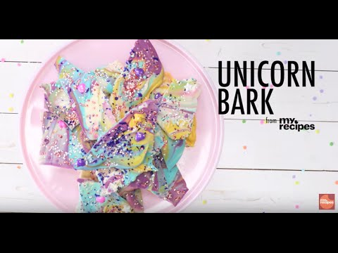 How to Make Unicorn Bark