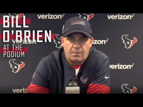 Bill O'Brien will be live at the podium after the Texans take on the Ravens   Unlimited LIVE