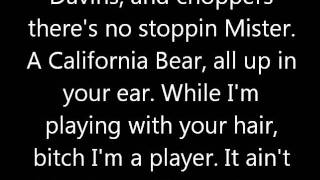 Cal Bear - Mac Dre LYRICS!