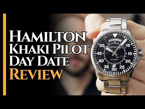 Hamilton Khaki Pilot Day Date Automatic 42 [REVIEW] The Interstellar Watch!