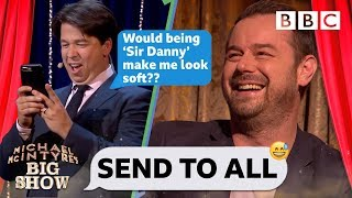 Send to All with Danny Dyer - Michael McIntyre's Big Show: Series 3 Episode 2 - BBC One