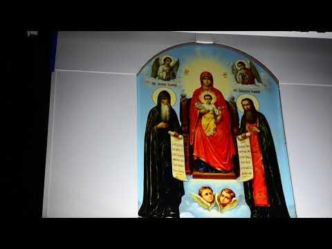 ХРИСТОС ВОСКРЕС !!! Храм на честь Ікони Божої Матері Печерської. Синельникове.  2019.04.28.
