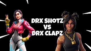 DrX ClapZ Vs DrX Shotz   Fortnite 1v1