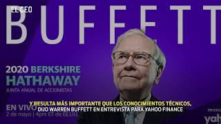 El consejo de Warren Buffett para jóvenes inversionistas