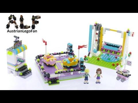 Vidéo LEGO Friends 41133 : Les auto-tamponneuses du parc d'attractions