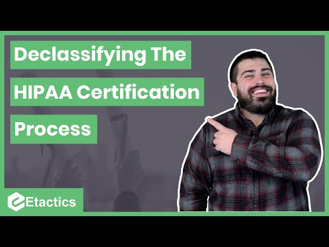How to Get a HIPAA Certification: DECLASSIFIED