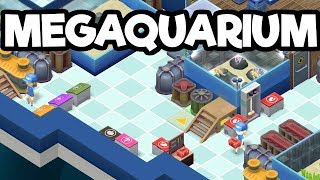 Build Manage and Own an Aquarium! - Megaquarium Gameplay Impressions
