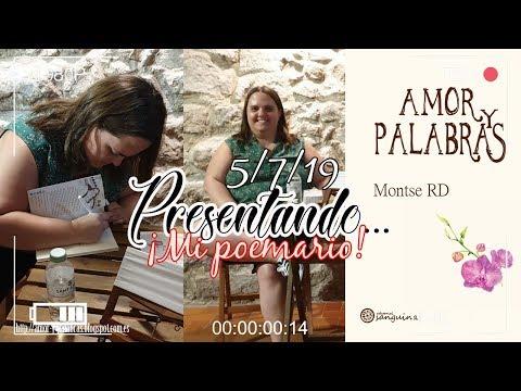 Presentación Amor y Palabras || Tudela, 05-07-2019