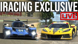 Exclusive First Look At iRacing's Upcoming Content | NEW LMP2 + CORVETTE C8R