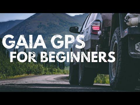 Just the basics… Gaia GPS Navigation Tutorial