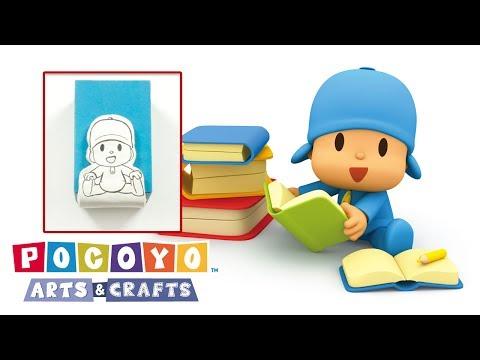 ✂️ Pocoyo Arts & Crafts 📚 Buchstütze   Cartoons für Kinder