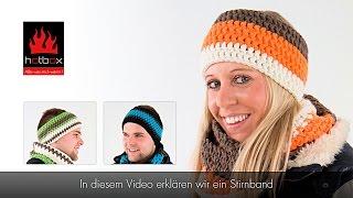 Einfaches Twist Stirnband Häkeln Anfänger самые популярные видео