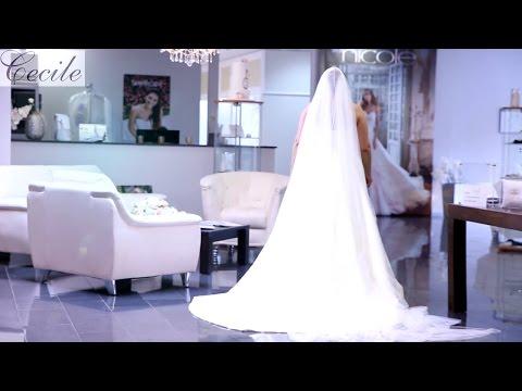 XL-Brautkleid mit edlem Überrock