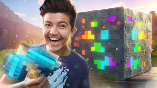 Minecraft in Real Life if Ores Were SUPER!