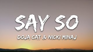 Doja Cat & Nicki Minaj - Say So (Lyrics) Remix