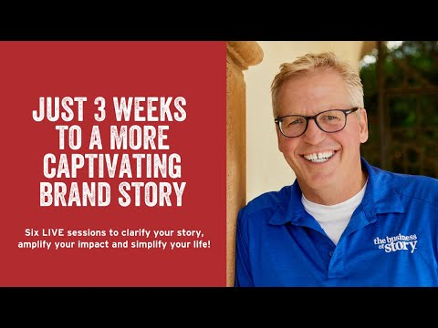 Build a Better Brand Story Course | Online Storytelling ... - YouTube