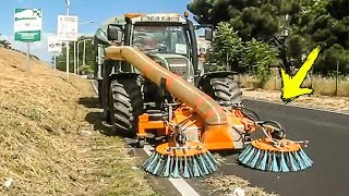 World Amazing Modern Machines Cleaning Street Equipment Technology - Street Sweeper Machine