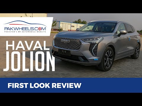 Haval Jolion 2021 | First Look Review | PakWheels