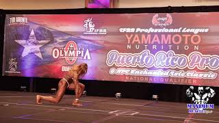 Posing Routines Women's Physique | IFBB Pro  League Tampa