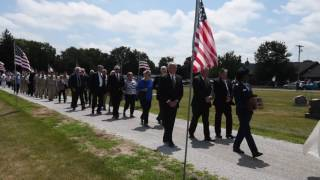 Video: Hundreds pay respects to Assumption fighter pilot
