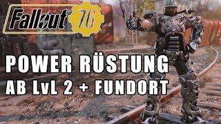 Fallout 76   POWER RÜSTUNG gleich zu BEGINN   Power Armor Fundort