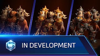 In Development: Garrosh, Skins, Mounts, and more!