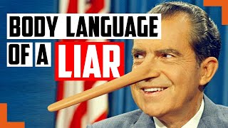 Watch Richard Nixon Use These Hilarious Tricks To Make You Think He Was Innocent – Body Language