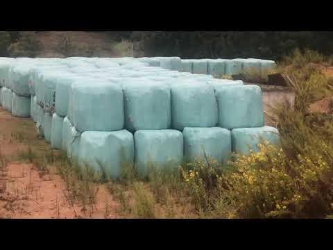 VIDÉO. Des tonnes d'ordures emballées sur un terrain à Cauro