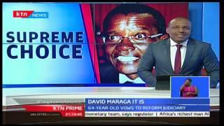 KTN Prime: CORD Leader Raila Odinga and Kalonzo Musyoka congratulate Judge Maraga, 22/09/16