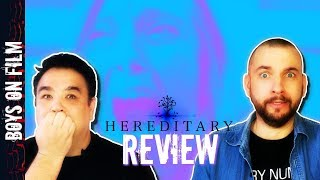 HEREDITARY starring TONI COLLETTE    MOVIE REVIEW