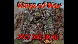 Kings of War Orc Faction Tactics Break Down
