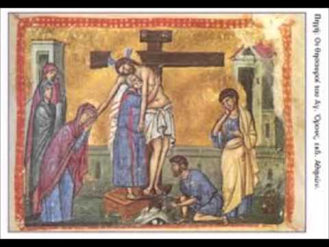 مختارات من خدمة الاسبوع العظيم المقدس والفصح المجيد للمرتلان إيلي خوري وابراهيم أمين
