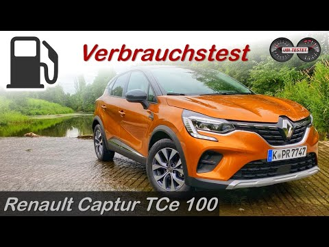 3-Zylinder Benziner - sind sie im Alltag sparsam?! Renault Captur TCe 100 im Test   Verbrauchstest