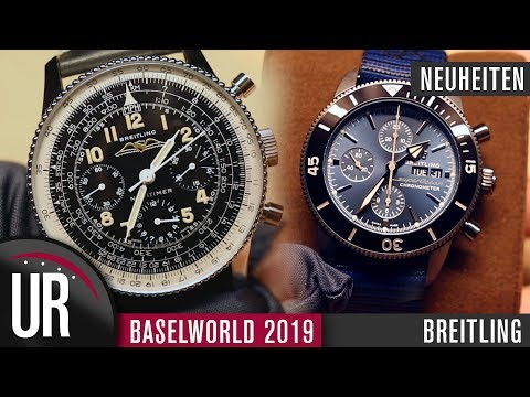 Baselworld 2019: Breitling - Back to the roots? Navitimer Re-Edition | Superocean Heritage