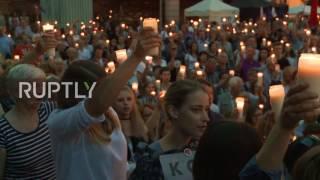 Poland: Protests against judicial reform continue into the night as Duda vetos bill
