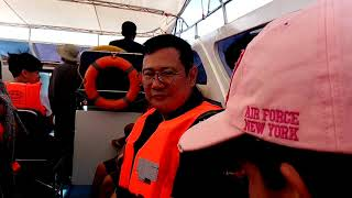 preview picture of video 'Riding Speed Boat From Pakbara Pier To Koh Lipe Taken December 15 2018 Saturday 09:58:49 Part 1'