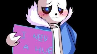Sans Wants A Hug